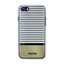 VUTU London SLIDES Hard Rear Case with Flexi Bumper for Apple iPhone 8, 7, 6S, 6