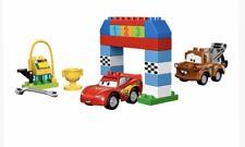 10600 Lego Duplo Disney Pixar Cars Lightning McQueen Mater Classic Race Set