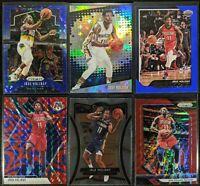 Lot of (6) Jrue Holiday, Including Prizm blue /175, Mosaic Reactive & parallels