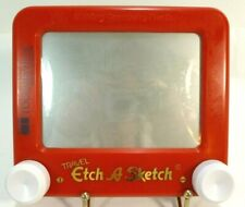 "Travel Etch A Sketch Red 5 1/2"" x 6 1/4"" Classic Toy The Ohio Art Company"