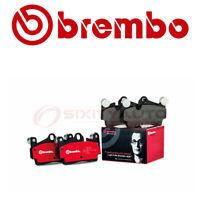Brembo Rear Disc Brake Pad Set for 2007-2013 Mercedes-Benz S65 AMG  - bg