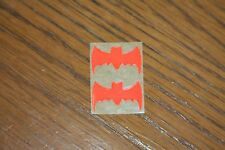 1966 Original Classic Batmobile 2 Bat Stickers Brighter Orange Than In The Photo