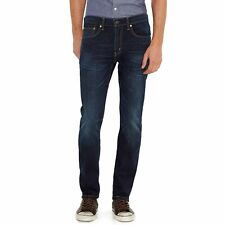 NEW Men's Levi's 511 Slim Fit Stretch Jeans Sequoia Dark Blue $69 size 36 x 34
