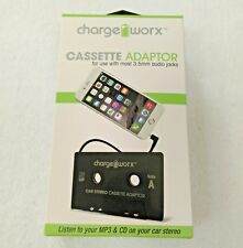 Car Stereo Cassette Adapter Smartphone Ipod Android 3.5mm