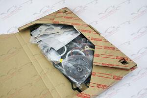 OEM Full Engine Gasket Set Kit Toyota Celica GT Four Rev2 3S-GTE ST185 SW20 MR2
