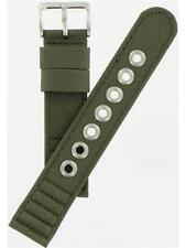 Citizen 20mm Green Canvas Strap Watch Band 59-S52138 Fits AT0200-05E Watches