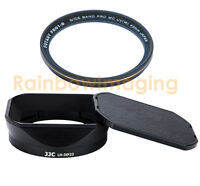 JJC Metal Hood & MRC UV Filter 4 FUJINON LENS XF 23mm F1.4 R replaces LH-XF23