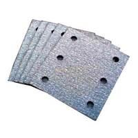 """Makita 7425297-A 4"""" X 4-1/2"""" Hook & Loop Assorted Grit Sandpaper (6 Pack)"""