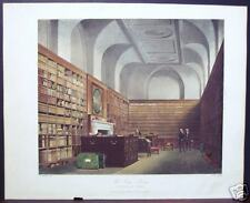 "W. H. Pyne: ""The King's Library, Buckingham House"" 1817"