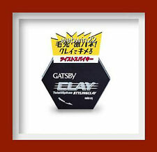 GATSBY Twist & Spikes STYLING CLAY WAX  HAIR GEL 50g mat matte ultra wild finish