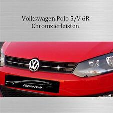 VW Polo 5/V 6R - 3M Chrom-Leisten Kühlergrill Zierleisten OBEN NEU