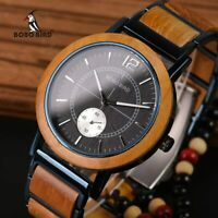 BOBO BIRD Wooden Men & Women Watches Top Brand Luxury Stylish Relogio Masculino