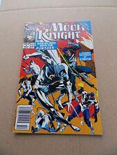 Marc Spector : Moon Knight 9  . Punisher - Marvel 1989 - VF