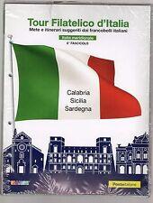tour filatelico d italia - serie completa di otto uscite - come foto - 150 euro