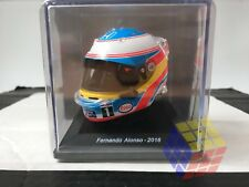 HELMET CASCO F1 / F-1 HONDA Fernando Alonso 2016 (1:5) Helm (NEW+CASE)