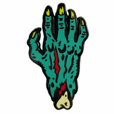 Severed Monster Hand Enamel Pin Ghoulsville Halloween Scary Novelty Collectible