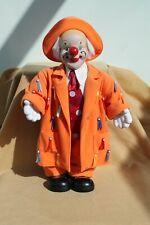 """Porcelain """"Happy"""" Clown"""
