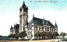 VIntage Postcard--Court House, Spokane WA,  #242