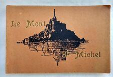 Le Mont St Michel Photo Album Book Color Versailles France Vintage +20 Cards