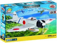 Cobi Small Army 'Wwii Mitsubishi A6M2 Zero' 250 Pieces Item #5515