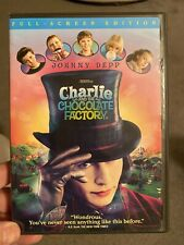 New ListingCharlie and the Chocolate Factory (Dvd, 2005, Full Frame)