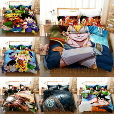 3D Dragon Ball Z Bedding Sets Duvet Cover Pillow Case 3Pcs Quilt Cover Kids Gift