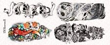 1/6 Scale Custom Tattoos  for Action Figures: Sleeves II - Waterslide Decals