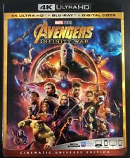Avengers Infinity War (4K Ultra HD + Blu-ray + Slipcover)