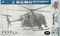Kitty Hawk KH50004 1/35 AH-6M/MH-6M night talker, with 6 crew figures, Version 2
