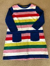 Mini Boden Striped Cotton Dress Sz 9-10