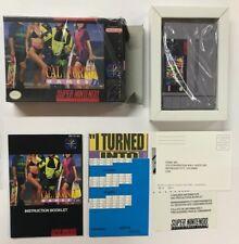 Super Nintento Entertainment System CALIFORNIA GAMES II SNES USA