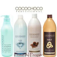 COCOCHOCO 1  Keratin Treatment Gold Original Pure + Sulphate Free Shampoo 1000ml