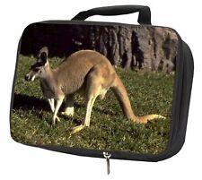 More details for kangaroo black insulated school lunch box bag, ak-2lbb