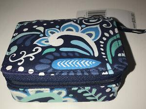 Vera Bradley Travel Pill Case Blue Island Medallion 14555-U60 NWT!!!