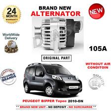 für Peugeot Bipper Tepee NEU Lichtmaschine 105A ab 2010 1.3 HDi 75 ohne Luft