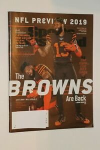 SPORTS ILLUSTRATED MAGAZINE AUG 26-SEPT 2 2019  CLEVELAND BROWNS DIVISION TITLE