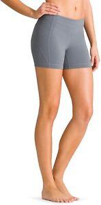 ATHLETA Kick Booty Yoga Bike Shorts Purple M