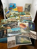 Massive Lot Of VINTAGE POSTCARDS All Unused. From All Over The World.
