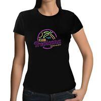Womens Club Tropicana T-Shirt - 80s Fancy Dress Disco Party Music Wham Pride