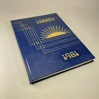 Lakeview Centennial High School Garland Texas Legacy 1981 Yearbook Annual
