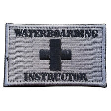 WATER BOARDING INSTRUCTOR U.S. ARMY 3D MORALE BADGE TACTICAL EMBROIDERED PATCH