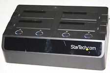StarTech 4 Bay USB 3.0 to SATA Hard Drive Docking Station for 2.5/3.5 HDD