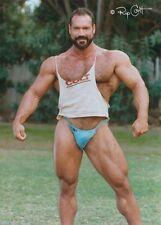 1999 VINTAGE COLT Male Nude CARL HARDWICK Mustache Hairy MASSIVE MUSCLE Beefcake