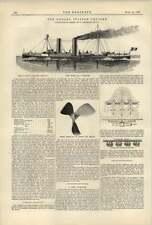 1887 Dogali Italian Cruiser Hydraulic Cement From Blast Furnace Slag