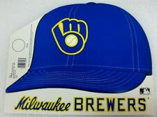 1983 Milwaukee Brewers Cardboard Hat Display Sign Promo Giveaway Old Logo