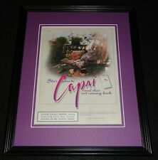 1999 Capri Cigarettes Framed 11x14 ORIGINAL Advertisement B