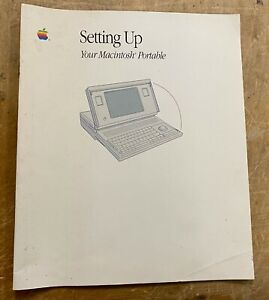 Apple Setting Up Your Macintosh Portable P/N: 030-3920-A