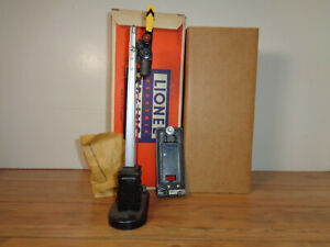 LIONEL O GAUGE # 151 SEMAPHORE SIGNAL, INSERT, CONTACTOR AND BOX