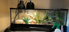 20g thrive reptile tank used-new condition, with feeding door and bottom opens.