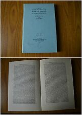 LIBRO ROMAN COINS BRITISH MUSEUM PLATES 14 FIGURES LONDON 1952 MONETE